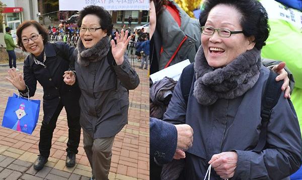 75岁老奶奶参加韩国高考