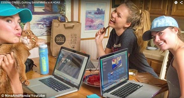 澳洲女孩Essena好友指责Essena抵制社交媒体行为是在作秀