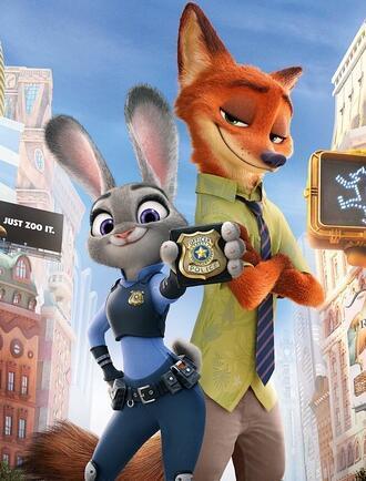 【电影】看《疯狂动物城》