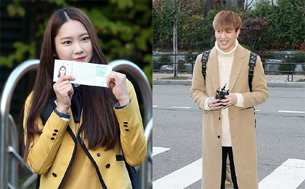 韩国明星也要高考
