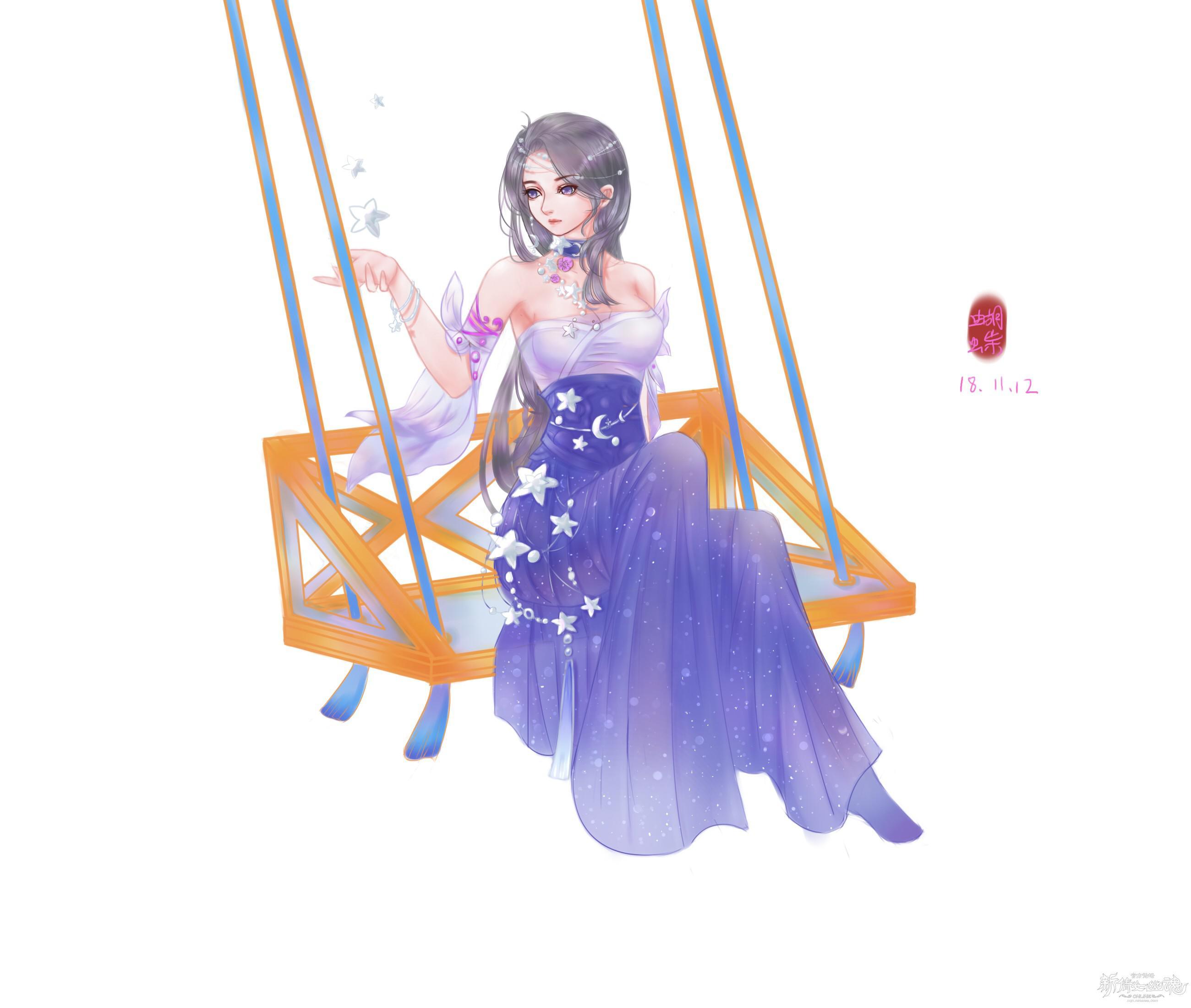 [手绘] 【名人堂】繁星漫漫
