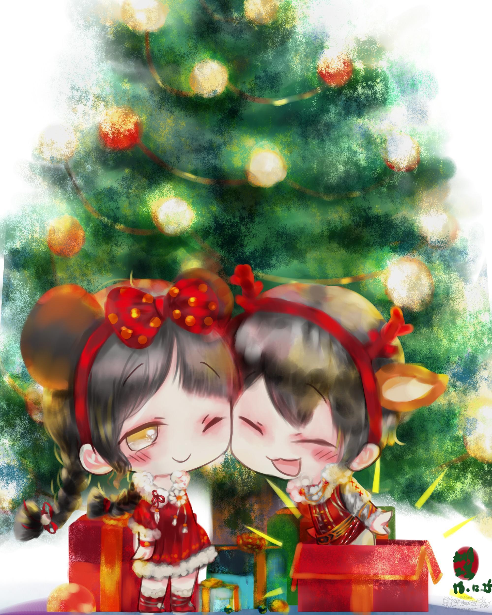 【名人堂】圣诞快乐!
