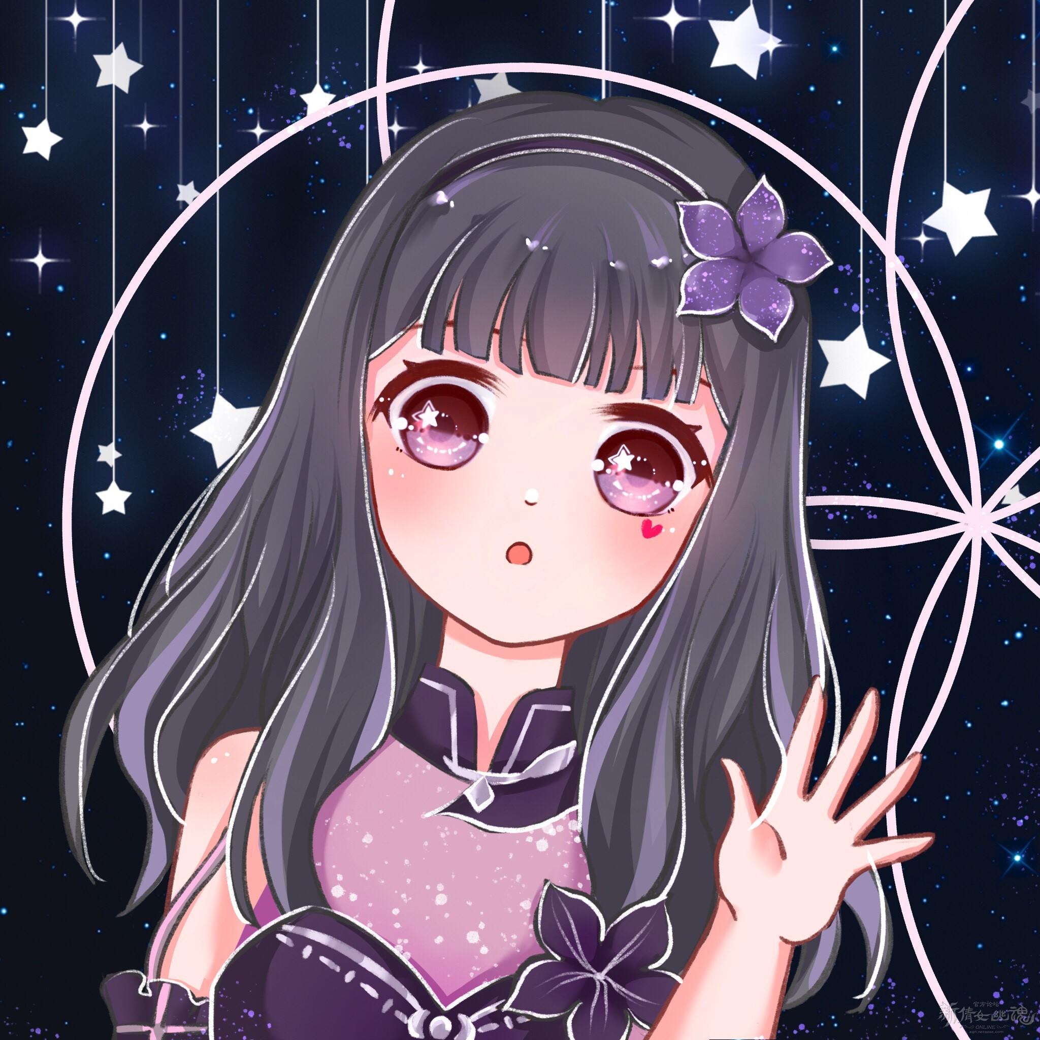 【名人堂】小可爱的时装绘第三期——暗夜微光