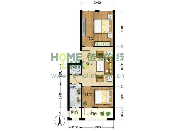 80平米户型客厅装修 刀把户型客厅装修图 80平米户型客厅