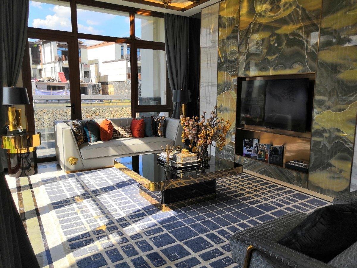 新区,远洋芙蓉墅,4A级景区享受纯天然氧吧,洋房的总价买别墅