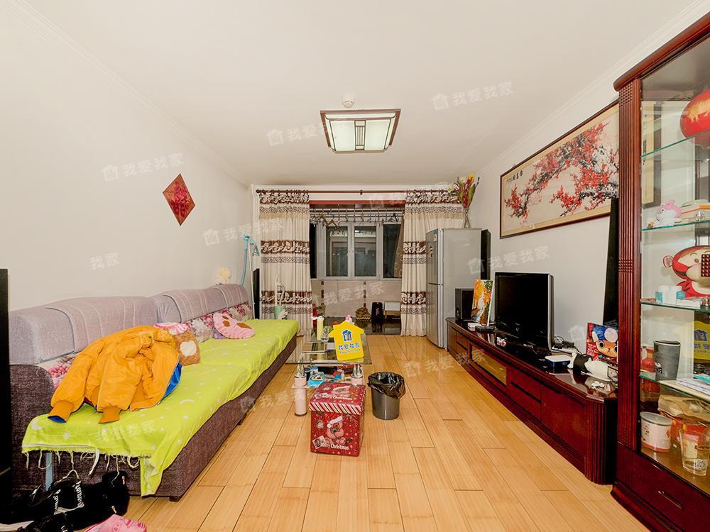 汇园公寓南北通透两居室 户型方正 可上朝阳外国语