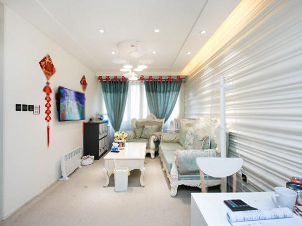 大悦城公寓 1室1厅 450万业主自装 干净敞亮 随时看房有钥匙