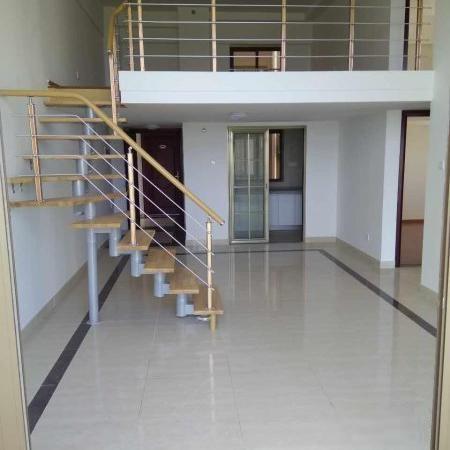 萝岗大壮广场 精装复式4室 带双阳台 单边位 可住家 可办公