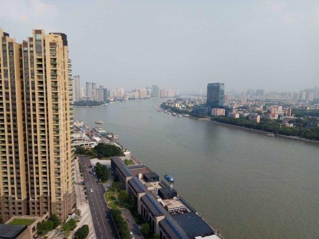 珠光御景壹号 B9栋高层东南向望三江口无遮拦 全新未住来电約