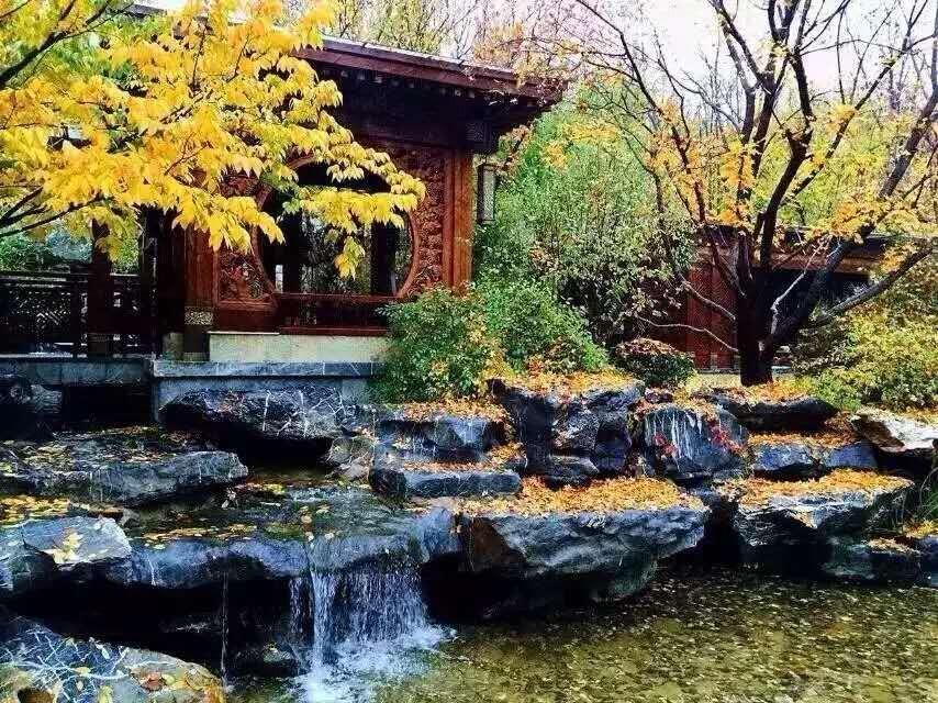 中国院子典范,历时3年2000万装修, ,给全套红木家具