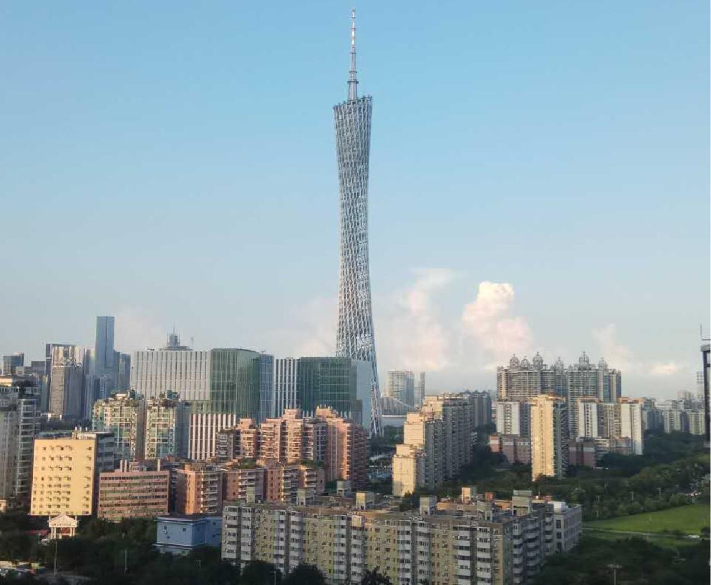 滨江水恋  装修 飞机户型大两房 望广州塔