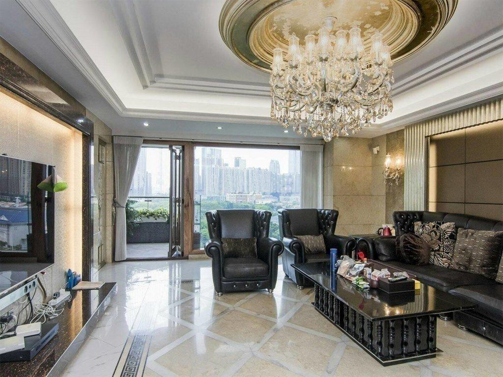 珠江新城 誉峰 CBD宜居  南北对流双主套四房 业主急售