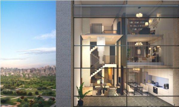 恒大未来城 南五环4号线 8.4米三层复式 温馨舒适的家