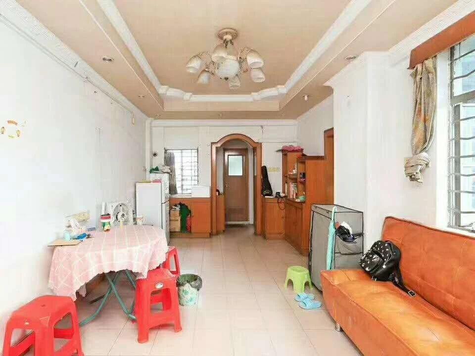 超低价格超大南北户型:2室1厅1厨1卫1阳台,积德花园