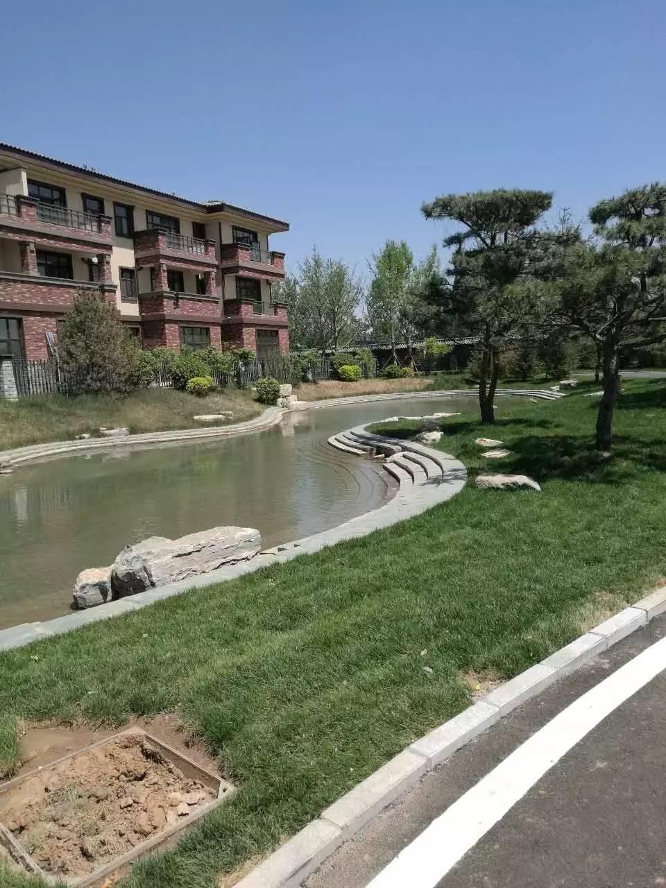中国院子  中式独栋  花园 阳台 停车位  修