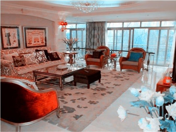 星河湾二期正规大四居,正对露天泳池,双卧朝南,高层观景房