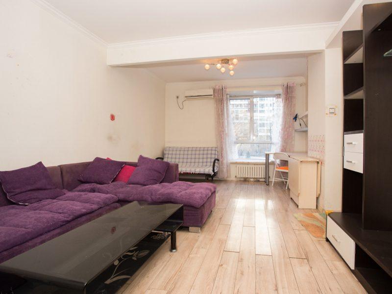西二环南北通透两居 赠送22.8平米露台已改卧室