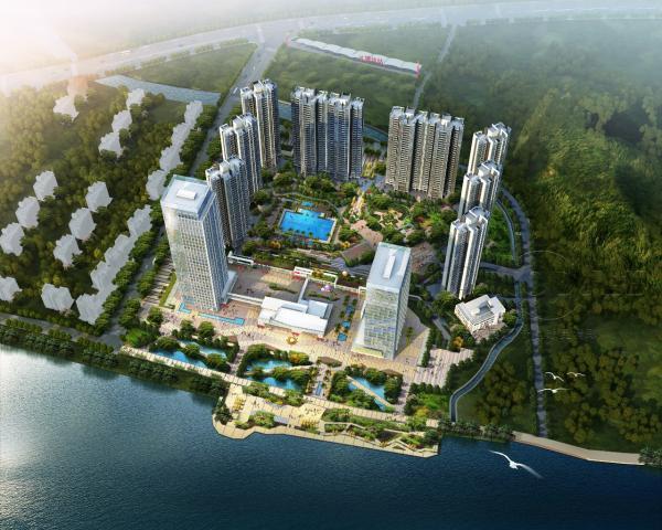 富力天海湾南沙生态宜居的海景项目!生态宜居、交通便利