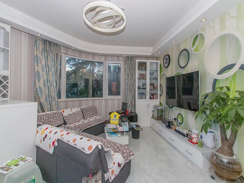 本家润园一期 商品一室一厅 可改两居 东南向