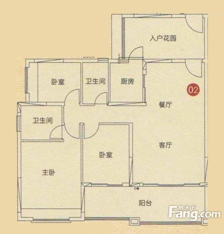 轩逸荟92方三房145万,东南向够两年,装修靓,拎包入住