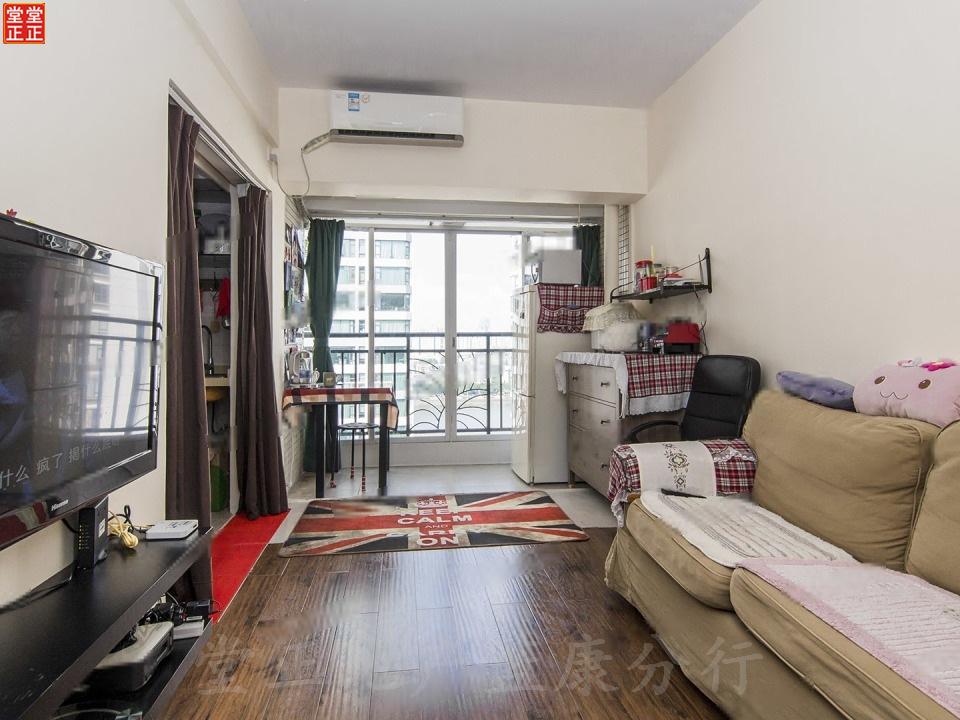 蓝色康园全新精装一房一厅诚售 天已微凉 给家人一个温暖的家吧。