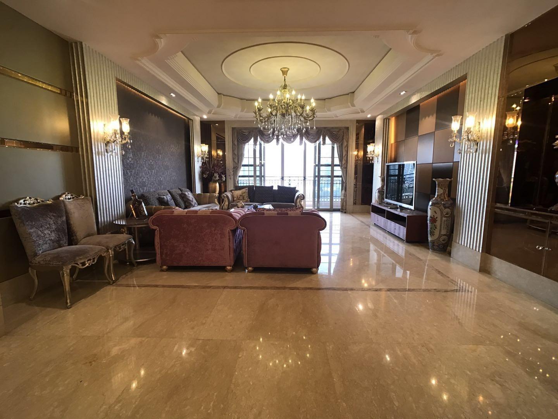 星河湾6号园 中高层江景洋房 一梯一户  装修