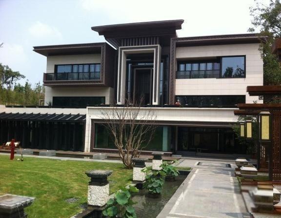 中国院子1000万!使用面积千平,三年装修,南花园,中式风格