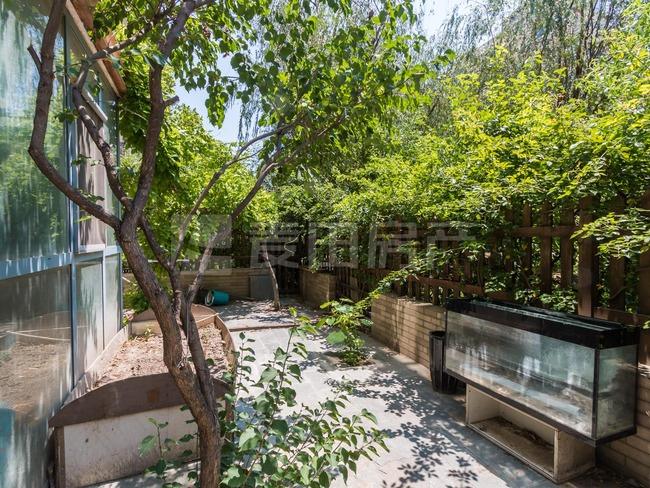 中间位置+有钥匙+满五年+45平花园+装修不错+价 格 可 谈+稳 定