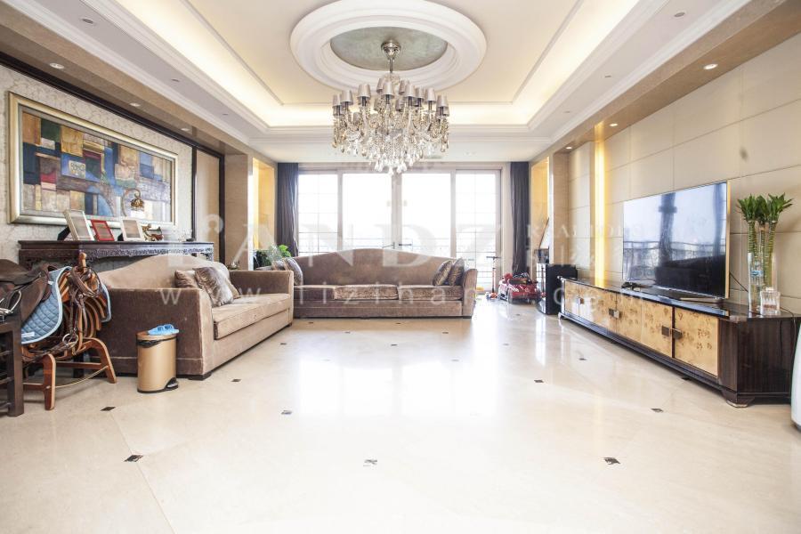 星河湾朗园+三期地暖房+主卧客厅朝南+高层观景+地暖