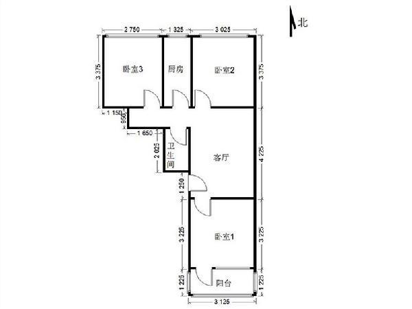 马家堡角门西晨光小区 地铁4+10号线 满5年 2层三居 有钥匙
