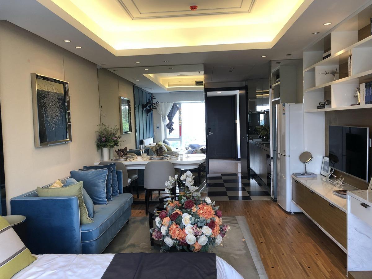 力达国际公寓 天河北 一手公寓 个人可购买 带租约