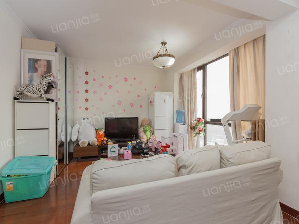 为你而选为你为家 珠江帝景 高层复式一居室  满五年只有契税