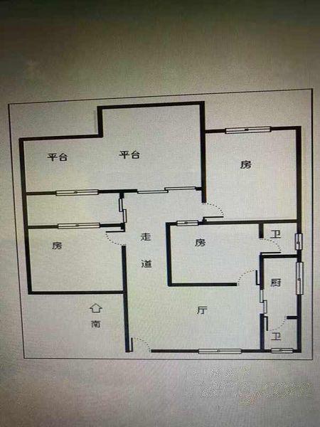 装修,3房带主套,带大平台,哪里找,可以直接入住,