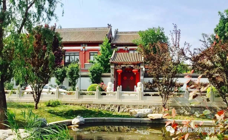 中式独栋+200平方正花园+独栋社区,街巷式布局,中式氛围