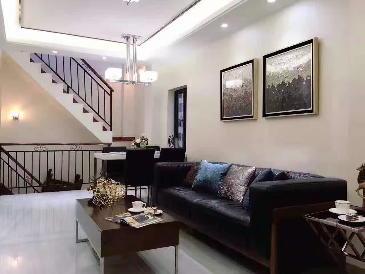 江南大道北 私家别墅三房 名师设计 新建复式私房 送全部家电