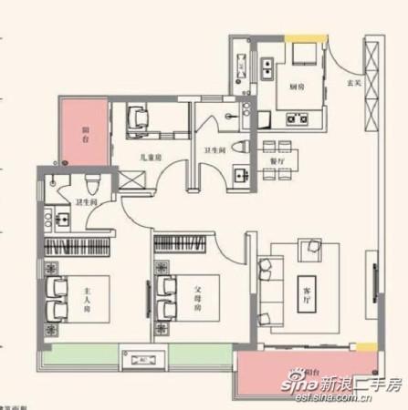 南沙自贸区越秀滨海新城精装三房低总价低首付16万公立  幼儿园