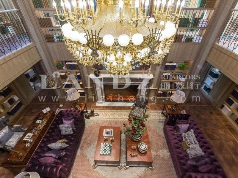 500平大花园的法式独栋别墅,中欧精装修可以直接入住!