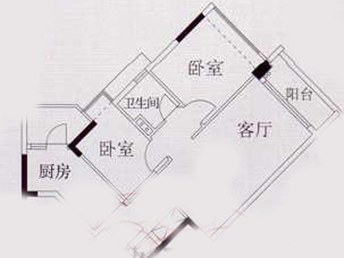 天河 车陂,时尚明苑两房,东向,格局方正,有心售,价格可谈