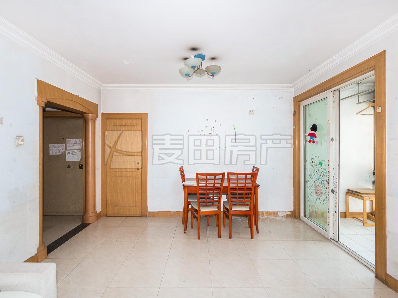 龙泽苑+两居室+南北通透+满五年+有钥匙+低楼层+业主已订房
