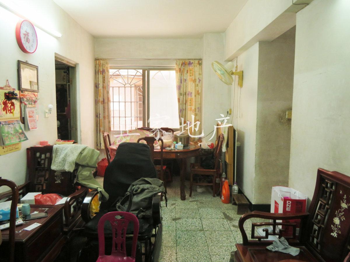 英豪花园 楼梯低层三房 南向望花园 户型方正实用 带学位