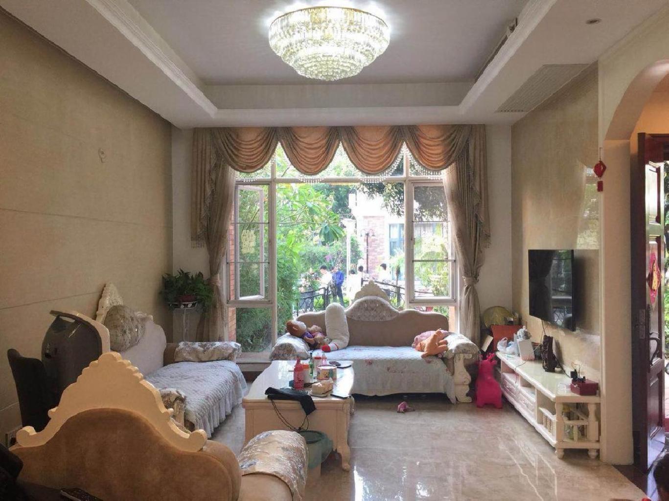 华南碧桂园别墅 位置安静 156方花园120方 南北对流