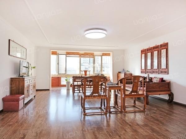 为你而选为你为家 新中式装修顶层复式 商满五