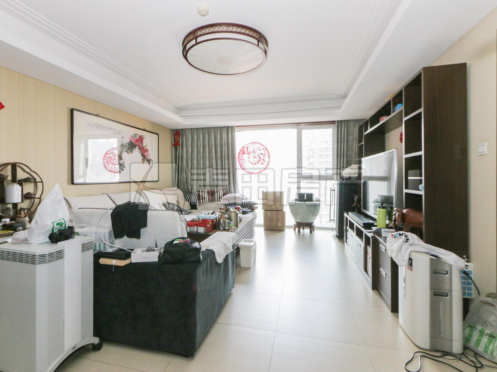 华彩国际,南北三居室,3A户型,两个明卫,中高层,满五年V一