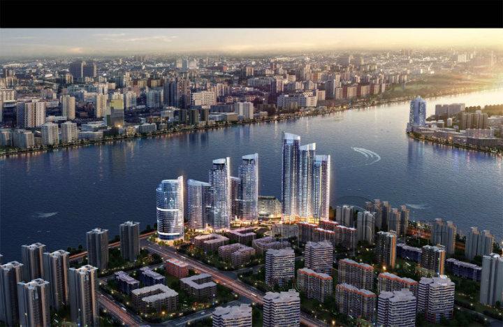 天誉半岛   三江交汇 一览广州珠江两岸特色地区  一览无遗