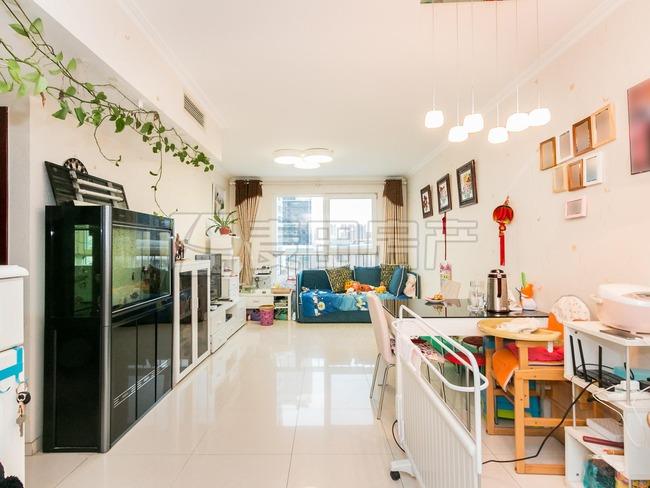 麦田 北苑媒体村天畅园 观景两居室 两卧室正对小区花园 邻奥森