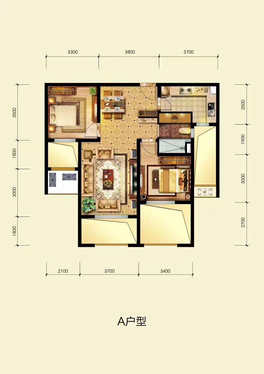 华银天鹅湖一渡景区加推两居房源均价15000一平