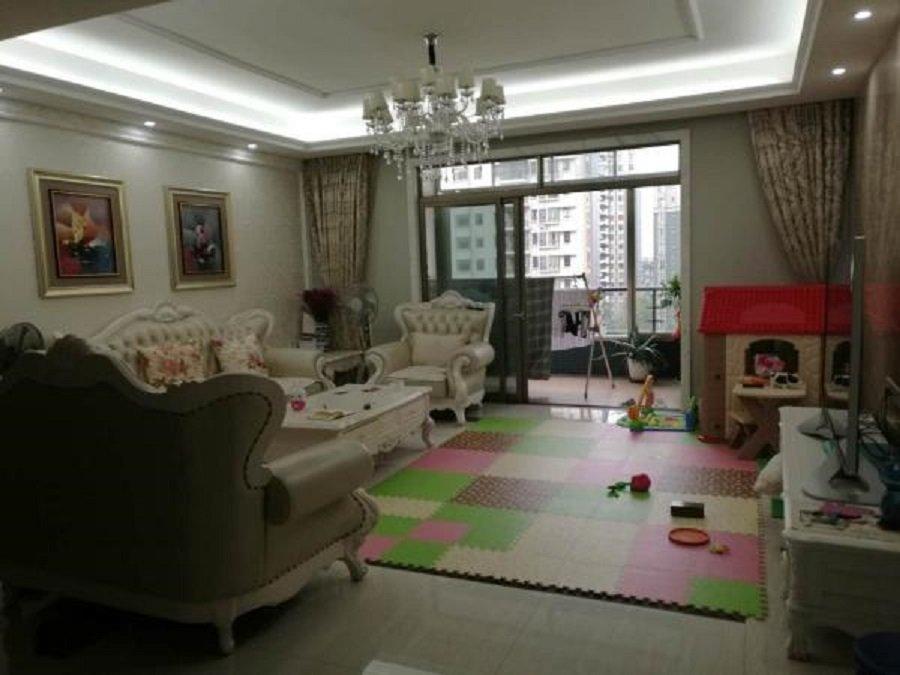 真房真价 出售富豪山庄景峰豪庭大平层南北对流4室 价格合适换房