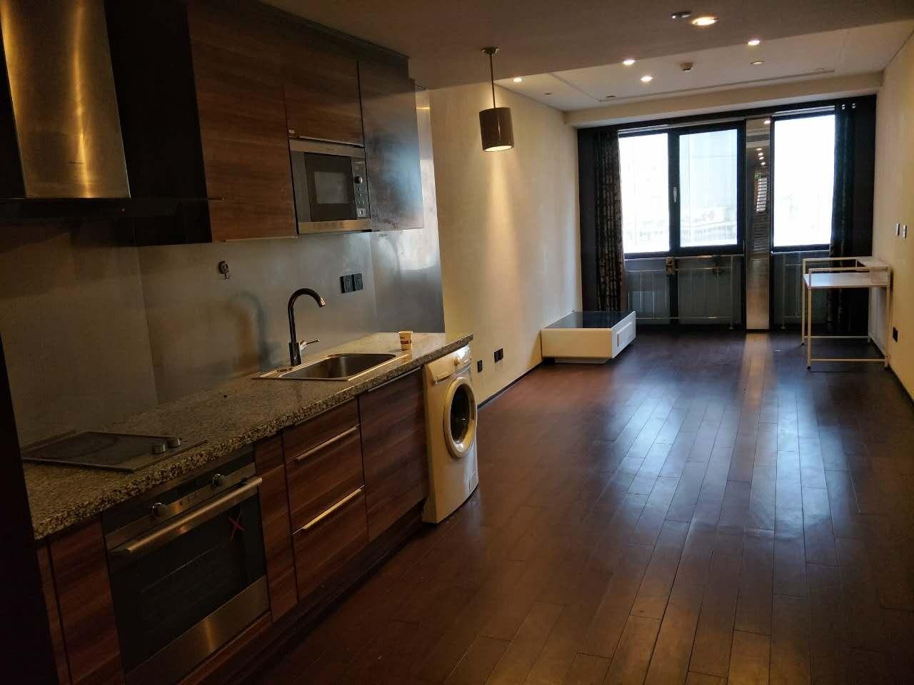 大悦公寓西向高层一居室 精装   随时看房 诚意出售