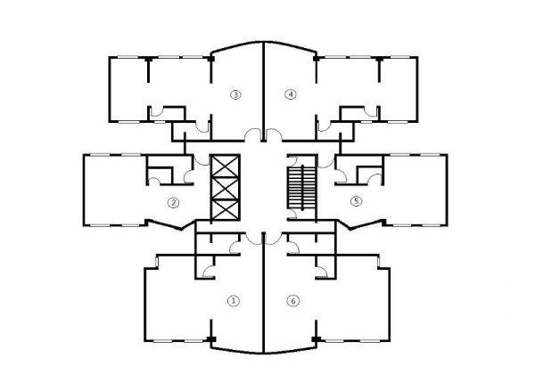 天俊国际大厦经典户型,基纬房地产出售
