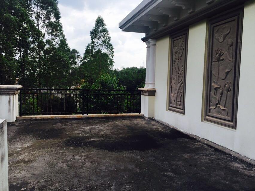 芙蓉花园新一期双拼别墅,中空大厅视野开阔。税费低,免中 介费